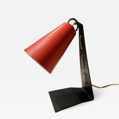 1960s Small Scaled French Desk Lamp