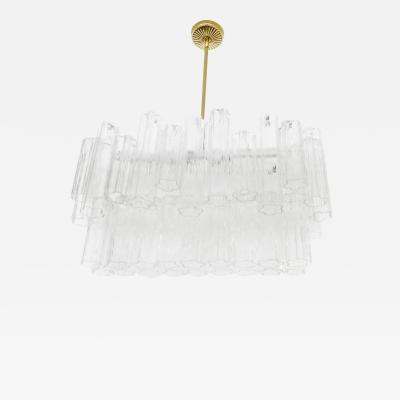 1960s Tronchi Murano Glass Cjhandelier