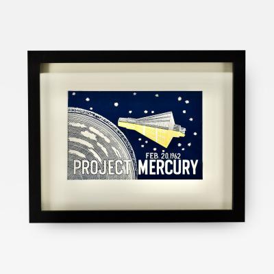 1962 Nasa Project Mercury Flag