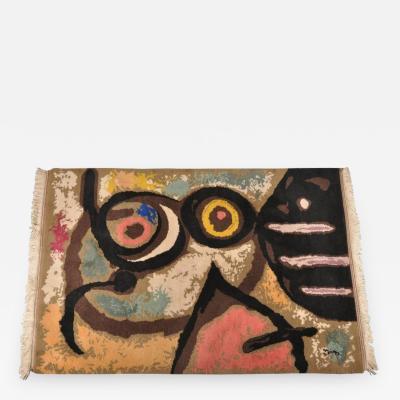 1966s Femme et Oiseaux tapestry after Joan Mir