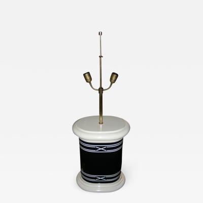 1970 1980 lacquered lamp base