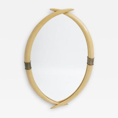1970 Elephant Tusk Mirror