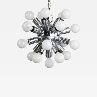 1970s Chrome Sputnik Chandelier
