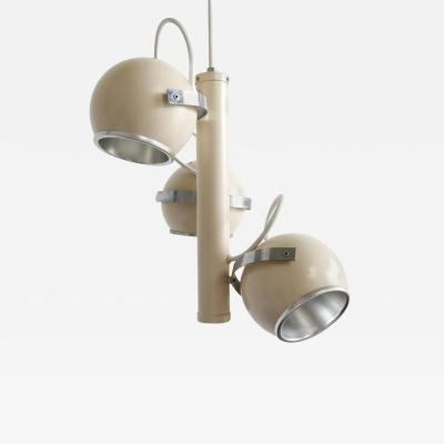 1970s Italian Adjustable Spheres Pendant Lamp