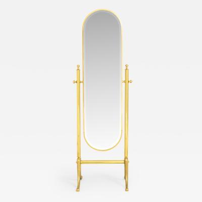 1970s Italian freestanding dressing mirror