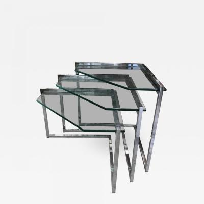 1970s Nesting tables