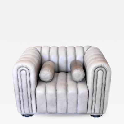 1980s Wittmanns Leather Sofa Chair
