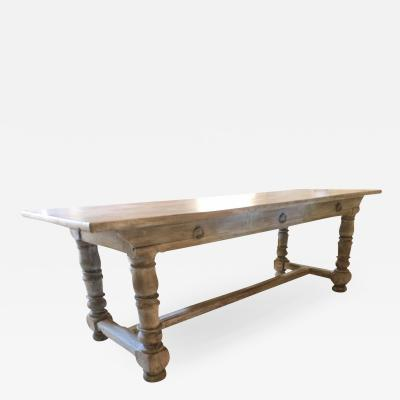 19TH C FRENCH MONASTERY TABLE