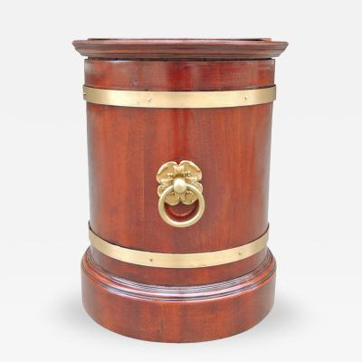 19th C English Regency Campaign Wine Cooler