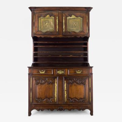 19th C French Country Vaisellier or Hutch