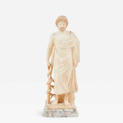19th C Italian Alabaster Figure