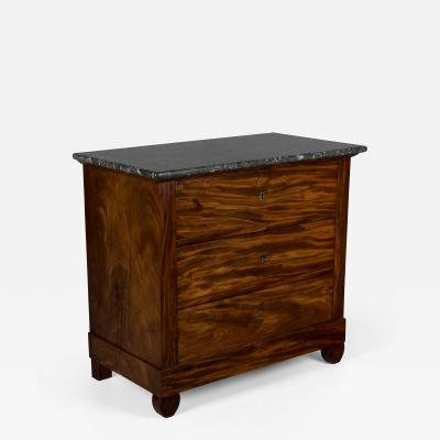 19th C Louis Philippe Mahogany Commode