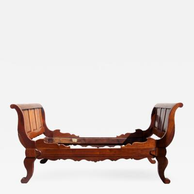 19th C West Indies Haitian Bed