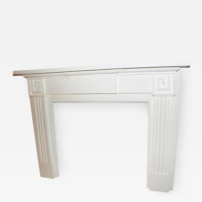 19th Century American Fire Place Mantel in Greek Revival Style