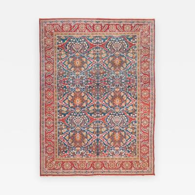19th Century Ameritza India Wool Rug Garrus Design circa 1900