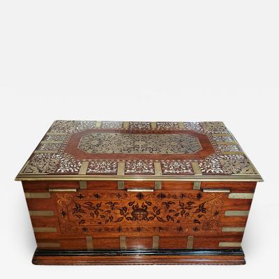 19th Century Anglo Indian Stationery Campaign Chest Outstanding