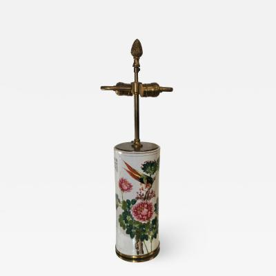 19th Century Antique Chinese Pottery Vase Now Designer Lamp