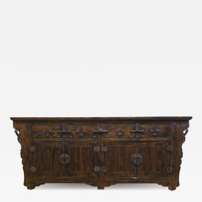 19th Century Antique Chinese Sideboard