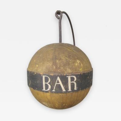 19th Century Bar Trade Sign