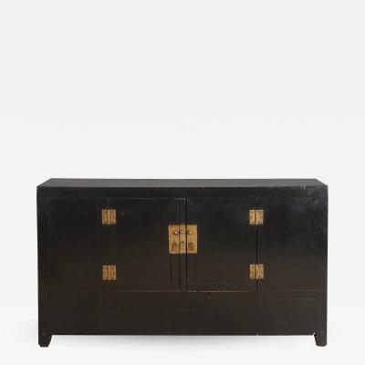 19th Century Black Chinese Sideboard