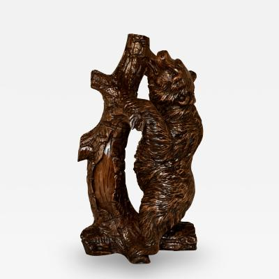 19th Century Black Forest Bear Carving