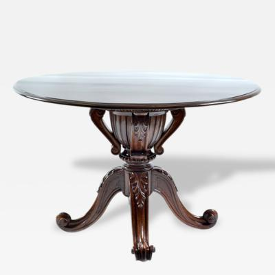 19th Century Brazilian Jacaranda Round Table