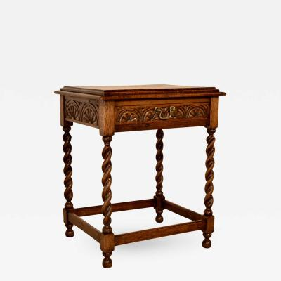 19th Century Carved Side Table