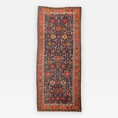 19th Century Caucasian Russian Wool Rug Kuba Design circa 1890