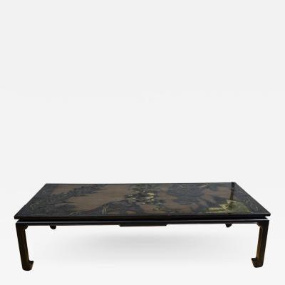 19th Century Chinese Coromandel Panels as Coffee Table
