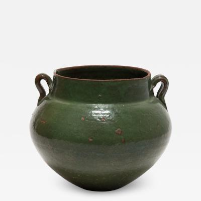 19th Century Chinese Green Glazed Jar