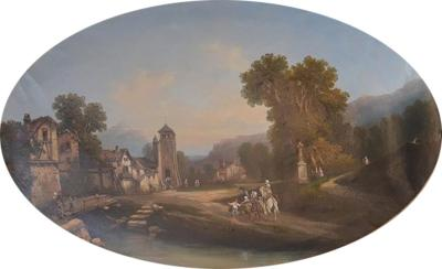 19th Century Continental School Painting