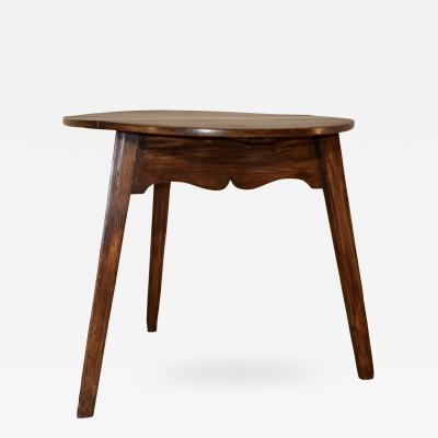19th Century Drop Leaf Cricket Table