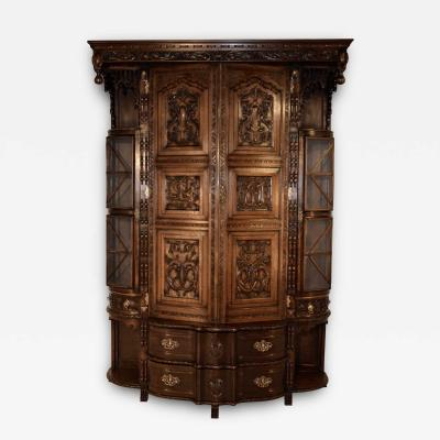 19th Century English Cloak Cupboard