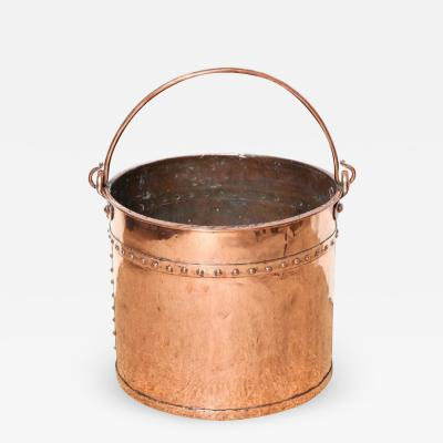 19th Century English Copper Apple Kettle