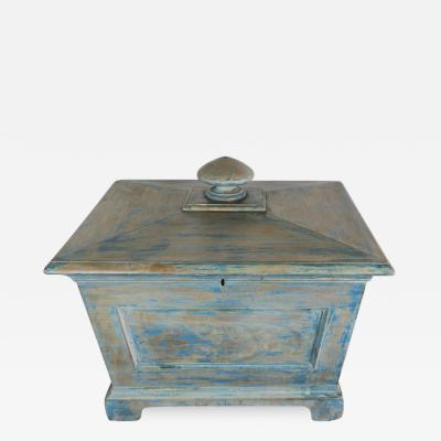 19th Century English Painted Wine Cooler