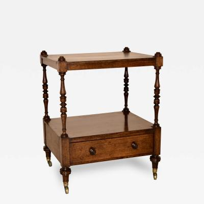 19th Century English Rosewood Shelf