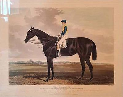 19th Century Engraving of Foig A Ballagh by Harry Hall