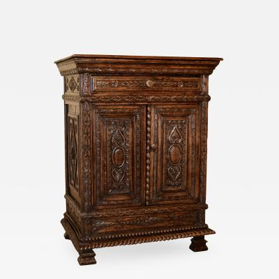 19th Century French Carved Cabinet