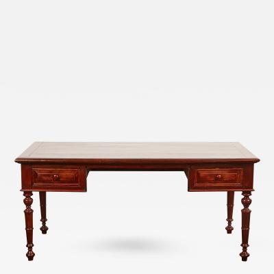 19th Century French Colonial Colonial Rosewood Desk