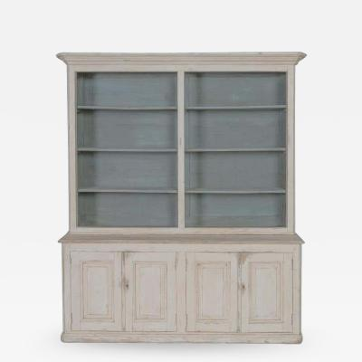 19th Century French Proven al Louis Philippe Style Lbibliotheque Bookcase
