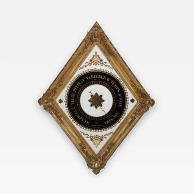 19th Century French glomis Barometer