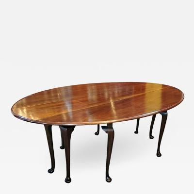 19th Century Irish Country Squires Mahogany Hunt Table