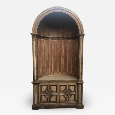 19th Century Italian Niche Cabinet