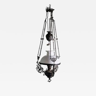 19th Century Italian Oil Lamp