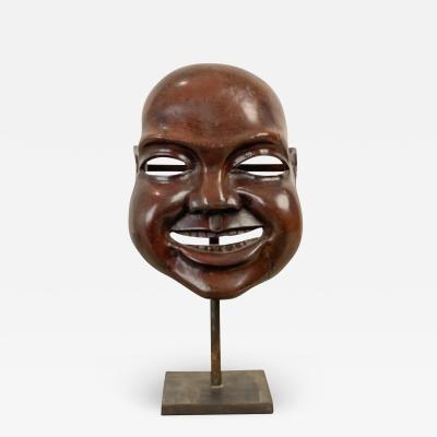 19th Century Japanese Noh Mask