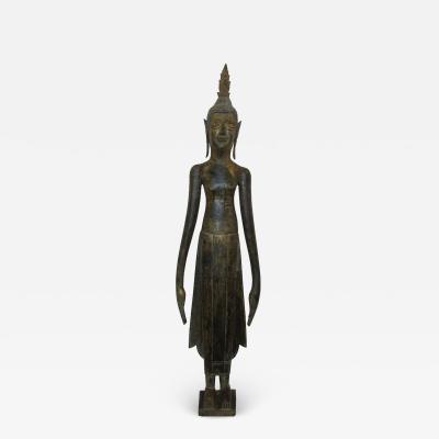 19th Century Lao Buddha Statue