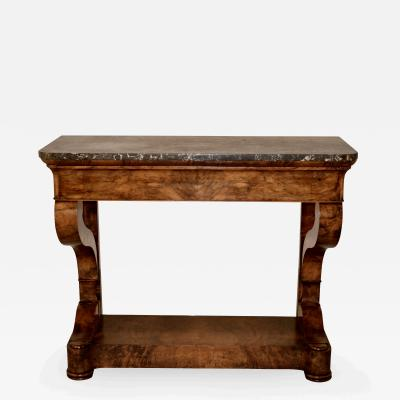19th Century Louis Philippe Console