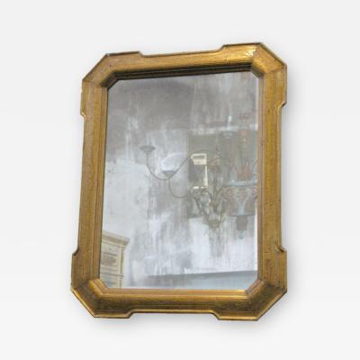 19th Century Louis Philippe Giltwood Mirror
