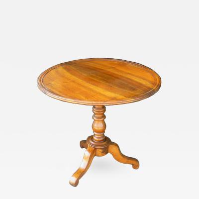 19th Century Louis Philippe Tilt Top Table