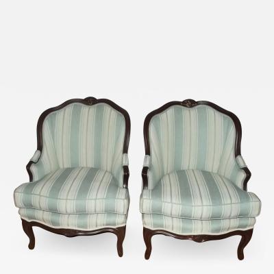 19th Century Louis XV Style Bergeres